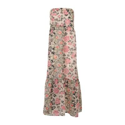 セミクチュール SEMICOUTURE ロングワンピース&ドレス アイボリー 42 ポリエステル 100% ロングワンピース&ドレス