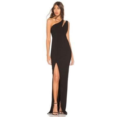 ライクリー LIKELY レディース パーティードレス ワンピース・ドレス Roxy Gown Black