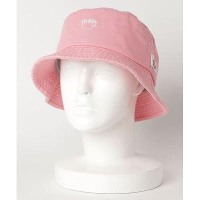 帽子 ハット 【DICKIES/ディッキーズ】スマイルギブワンポイント刺繍バケットハット