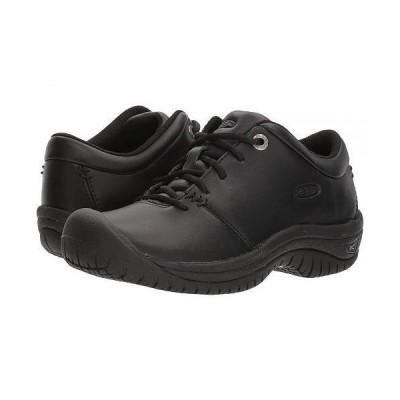 Keen Utility キーン レディース 女性用 シューズ 靴 スニーカー 運動靴 PTC Oxford - Black