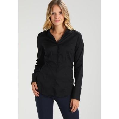 サイデンステッカー シャツ レディース トップス Button-down blouse - black