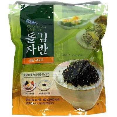 イェマッ食品 韓国味付けのりフレーク 80g×4袋入り (320g) [並行輸入品]