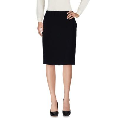 PESERICO SIGN ひざ丈スカート ブラック 50 ポリエステル 100% ひざ丈スカート