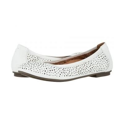 VIONIC バイオニック レディース 女性用 シューズ 靴 フラット Robyn Perf - White Napa
