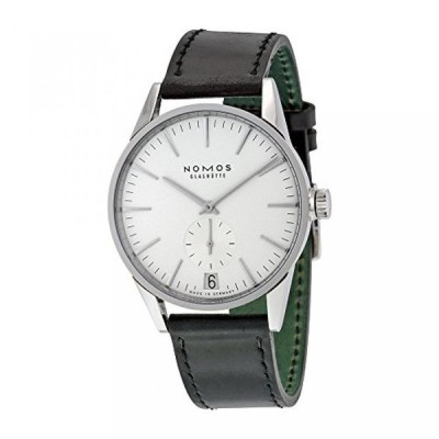 ノモス 腕時計 メンズウォッチ Nomos Zurich Datum Automatic White Dial Stainless Steel Mens Watch 802