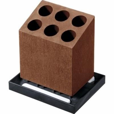Karari アンブレラスタンド 6本 斜め ブラウン HO1959(1コ)[傘立て]