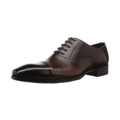 マドラス ビジネスシューズ メンズ 高級 紳士靴 ダークブラウン 25.5 cm 3E