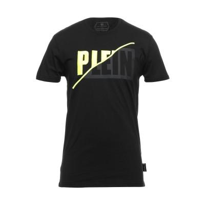 PHILIPP PLEIN T シャツ ブラック S コットン 100% / ポリエステル T シャツ
