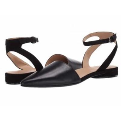 Naturalizer ナチュラライザー レディース 女性用 シューズ 靴 フラット Hartley Black Leather/Suede【送料無料】