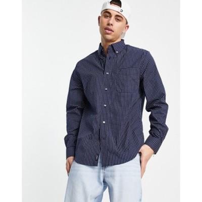 トミー ヒルフィガー メンズ シャツ トップス Tommy Hilfiger oneil print classic fit long sleeve shirt