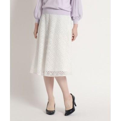 SunaUna/スーナウーナ アンスカラレーススカート オフホワイト(403) 36(S)