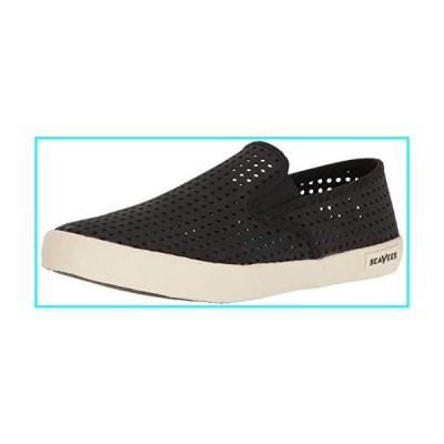 [SEAVEES] Men's 02/64 Baja Slip-on Portal, Black, Size 8.5