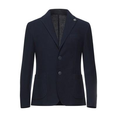EXIBIT テーラードジャケット ブルー 52 コットン 82% / レーヨン 18% テーラードジャケット