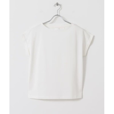 URBAN RESEARCH/アーバンリサーチ ペルビアンコットンTシャツ WHITE FREE