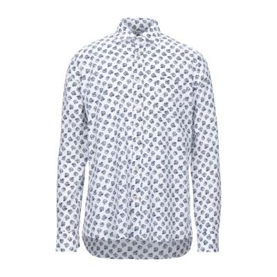 SEVENTY SERGIO TEGON シャツ ホワイト 39 リネン 55% / コットン 45% シャツ