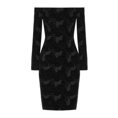 L'AGENCE チューブドレス  レディースファッション  ドレス、ブライダル  パーティドレス ブラック