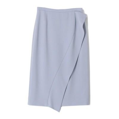 スカート ESTNATION / ダブルクロスラッフルディティールタイトスカート