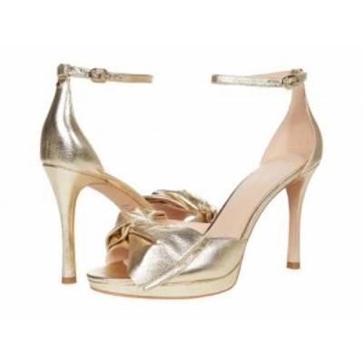 Kate Spade New York ケイト・スペード レディース 女性用 シューズ 靴 ヒール Bridal Bow Pale Gold【送料無料】
