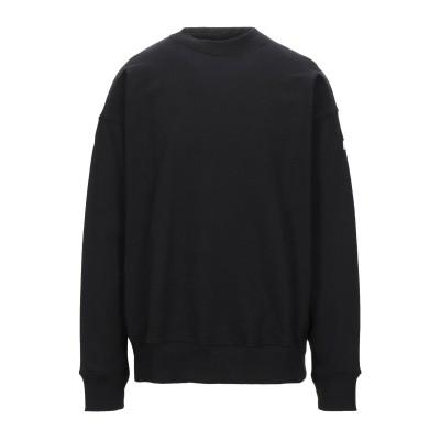 VERSACE JEANS COUTURE スウェットシャツ ブラック M コットン 100% スウェットシャツ