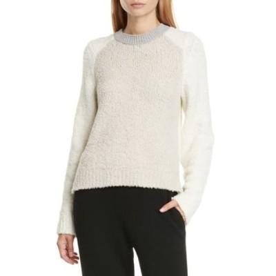 ラグアンドボーン レディース ニット&セーター アウター Davis Colorblock Wool Blend Sweater IVRY
