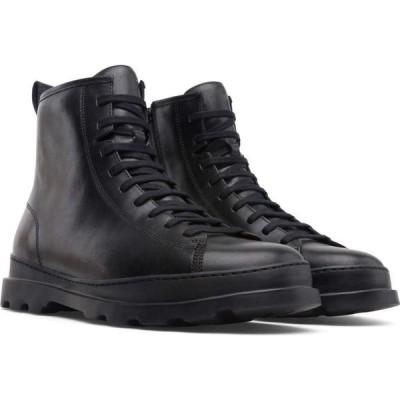カンペール Camper メンズ ブーツ ショートブーツ レースアップブーツ シューズ・靴 brutus lace-up chunky ankle boots Black