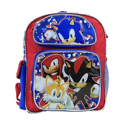 Sonic Toddler 12 inches backpack 並行輸入品