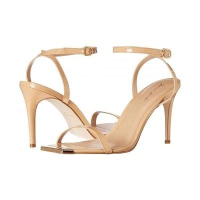 Massimo Matteo マッシオマッテオ レディース 女性用 シューズ 靴 ヒール Gold Tip Heeled Sandal - Nude