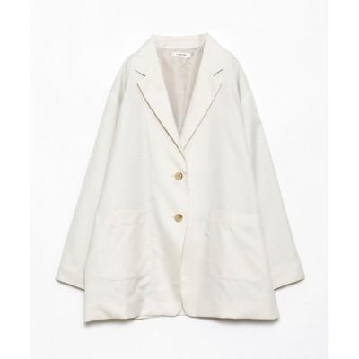 AS KNOW AS PLUS / 交差する風の訪れジャケット WOMEN ジャケット/アウター > テーラードジャケット