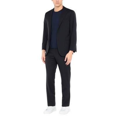 KITON スーツ ダークブルー 50 ウール 100% スーツ