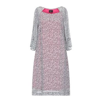 リュー ジョー LIU •JO ミニワンピース&ドレス ホワイト 42 レーヨン 100% ミニワンピース&ドレス