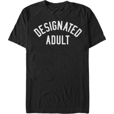 フィフス サン Fifth Sun メンズ Tシャツ トップス Designated Adult Short Sleeve Crew T-shirt Black
