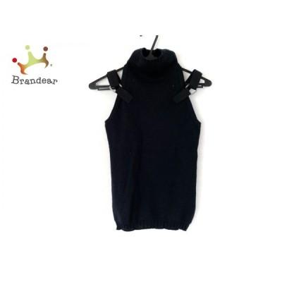 ヴェルサスヴェルサーチ ノースリーブカットソー サイズ38 M レディース 美品 - 黒   スペシャル特価 20210414