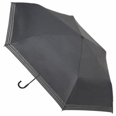 hands+ 軽量1級遮光日傘 折りたたみ傘 53cm ブラック│hands+ウェザー hands+ 折り畳み傘