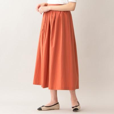 エムピー ストア MP STORE タイプライターロングスカート (オレンジ)