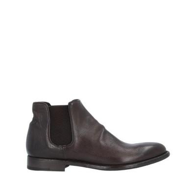 ALBERTO FASCIANI ショートブーツ ファッション  レディースファッション  レディースシューズ  ブーツ  その他ブーツ ダークブラウン