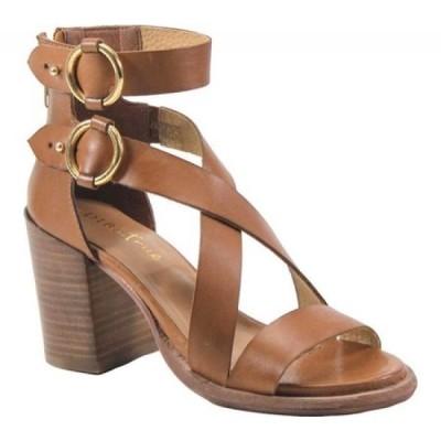 ディバ トゥルー Diba True レディース サンダル・ミュール シューズ・靴 Hey You Heeled Sandal Tan Metallic Leather