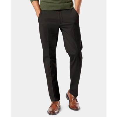 ドッカーズ カジュアルパンツ ボトムス メンズ Men's Big & Tall Workday Tapered Fit Smart 360 Flex Stretch Khakis Black