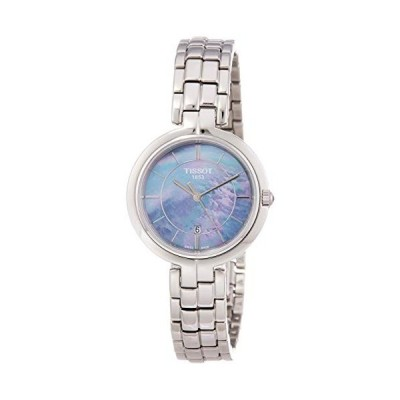 腕時計 ティソ レディース T094.210.11.121.00 Tissot Flamingo Lady Silver Quartz Analog Women's Watch