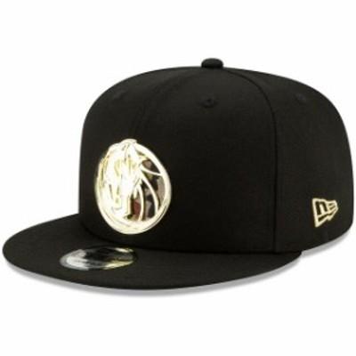 New Era ニュー エラ スポーツ用品  New Era Dallas Mavericks Black Camo Metal & Thread 9FIFTY Adjustable Snapback Hat