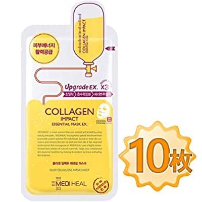 【正規品】メディヒール コラーゲン インパクト エッセンシャル マスク EX 10枚 / Mediheal Collagen Impact Essential EX 10sheet