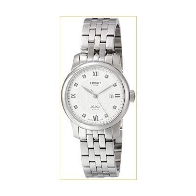 Tissot Le Locle Automatic Diamond Silver Dial Ladies Watch T006.207.11.036.00 並行輸入品