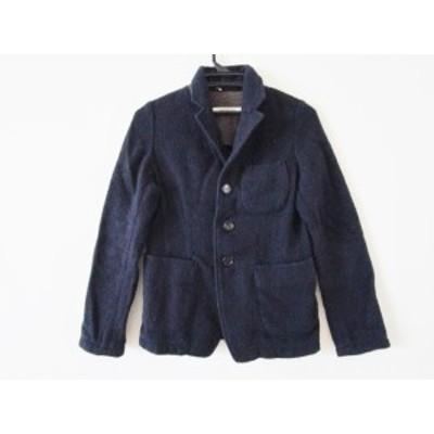 オムニゴッド OMNIGOD ジャケット サイズ2 M レディース ネイビー 冬物【中古】