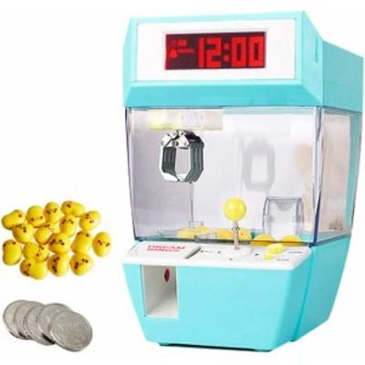 目覚まし時計 デジタル UFOキャッチャー ミニクレーンゲーム 卓上 おもちゃ雑貨