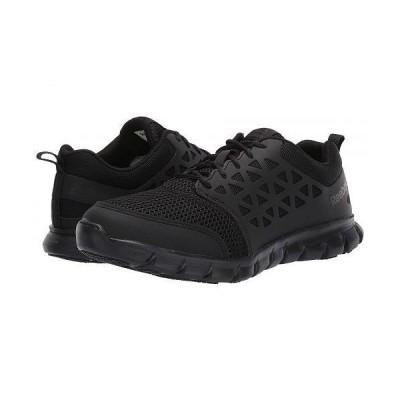 Reebok Work リーボック メンズ 男性用 シューズ 靴 スニーカー 運動靴 Sublite Cushion Work - RB4035 Soft Toe SD - Black