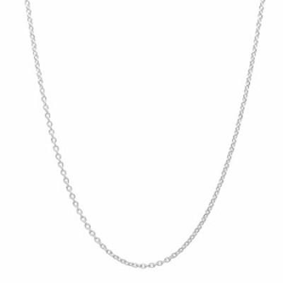 ネックレス 10K イエローゴールド 0.8MM ダイヤモンドカット ケーブルリンクチェーンネックレス イタリア製 サイズ&カラーをお選びくだ