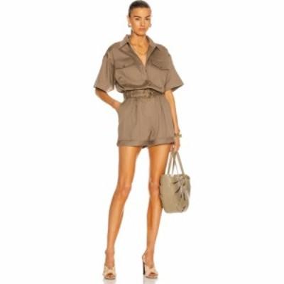 フレーム FRAME レディース オールインワン ワンピース・ドレス Arie Romper Desert