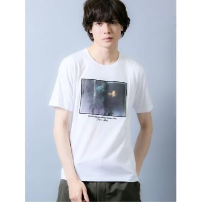 TAKA-Q / セマンティックデザイン/semantic design フォトグラフィック クルーネック半袖Tシャツ MEN トップス > Tシャツ/カットソー