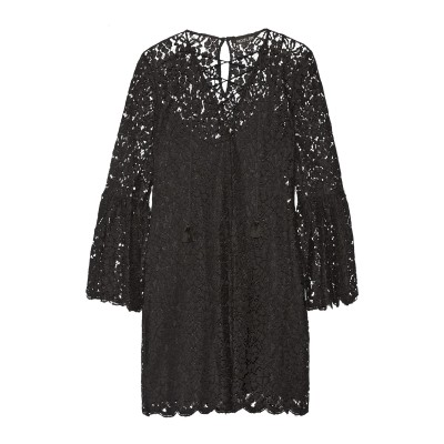 レイチェル・ゾー RACHEL ZOE ミニワンピース&ドレス ブラック 4 レーヨン 58% / コットン 24% / ナイロン 18% ミニワン