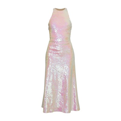 アレキサンダーワン ALEXANDER WANG ロングワンピース&ドレス ホワイト 0 ポリエステル 100% ロングワンピース&ドレス