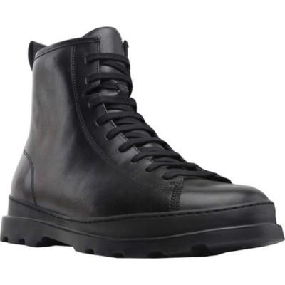 カンペール ブーツ&レインブーツ シューズ メンズ Brutus Combat Ankle Boot (Men's) Black Calfskin